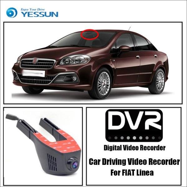 Dash cam for Fiat Linea Car Driving Video Recorder
