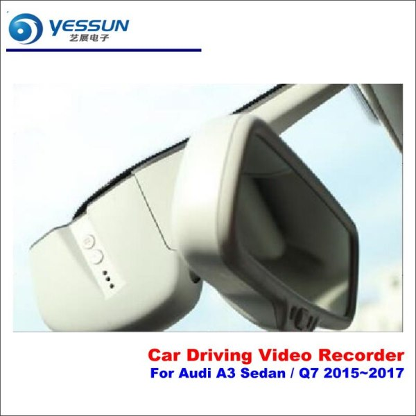 Dash Cam For Audi A3 Sedan Q7 2015-2017 Car DVR Driving Video Recorder