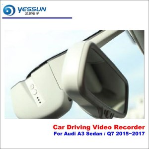 Dash Cam For Audi A3 Sedan Q7 2015-2017 Car DVR Driving Video Recorder