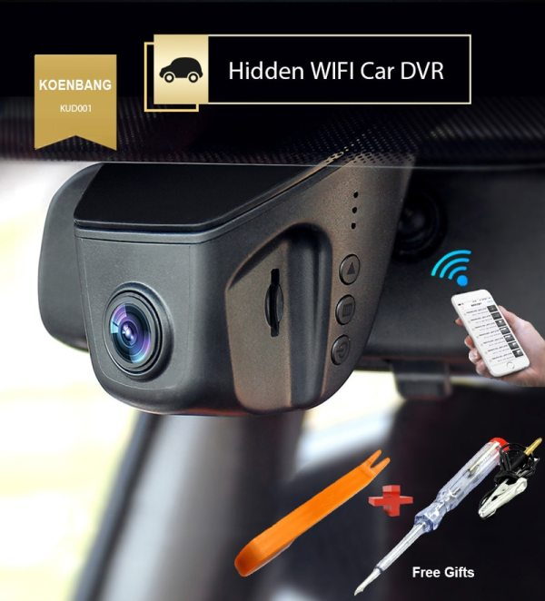Car DVR Novatek Full HD1080P 6G Lens