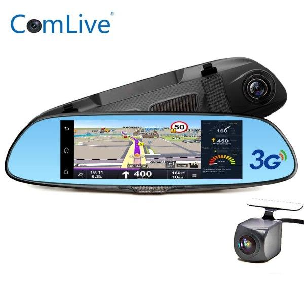 """Camlive 7"""" 3G dash camera car DVRs GPS navi bluetooth"""