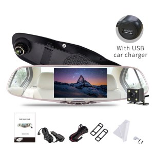 FHD 1080P Car DVR Camera 5 inch 170 Degree Video
