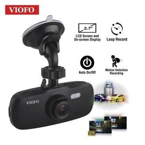 Viofo Car DVR G1W-S HD 1080P Super Capacitor Novatek 96650 Car Dash Cam