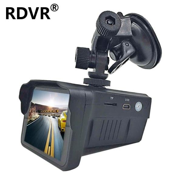 2 in 1 Dash cam antiradar combo speed camera