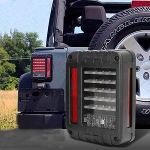 LED Brake Tail Lights Rear Signal Reverse Lamps for jeep wrangler