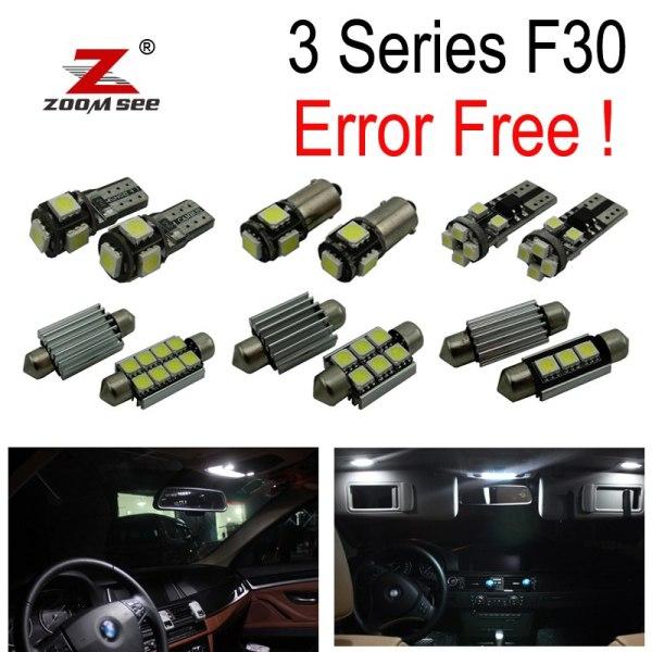 Lights bulb full Kit for bmw 3 series F30 F35 F80 320i 328i 335i
