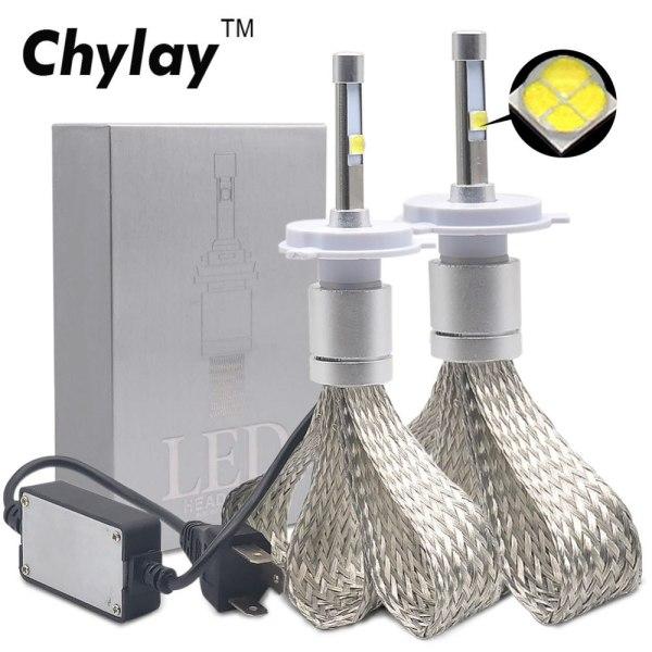 Car Headlight Bulb R3 9600lm with Mini Lens H3