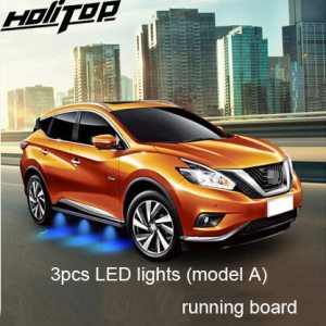 Side step side bar for Nissan Murano, with LED
