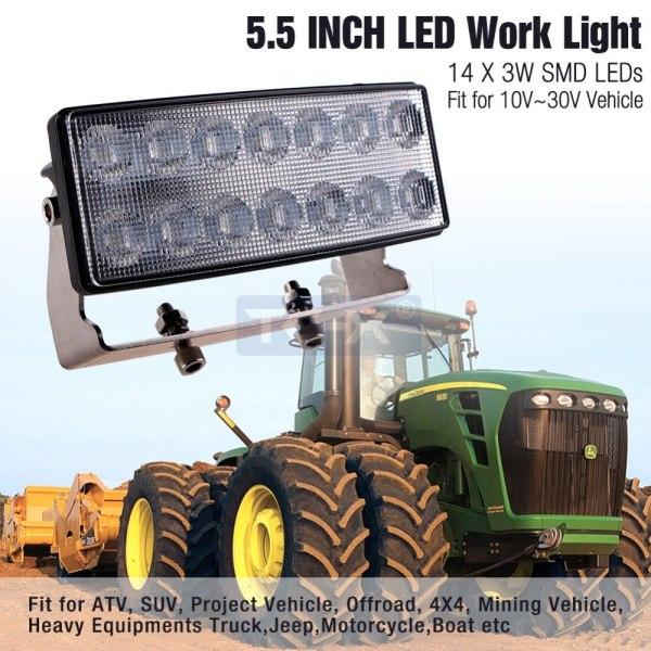 TC-X 7 INCH 42W led working lights car led bar led light bar car