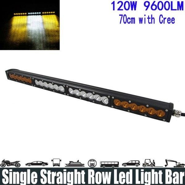 Spot/Flood/Combo Beam Super Bright Led Light Bar Running Light Headlight