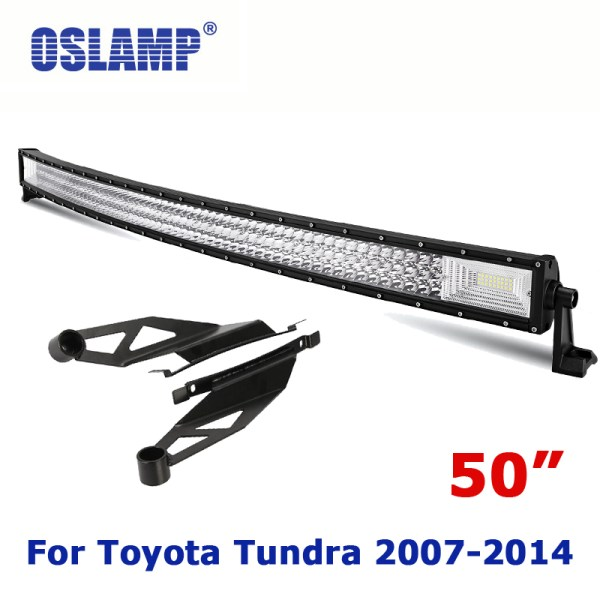 "oyota Tundra Refitment 50"" Curved Driving LED Light Bar"