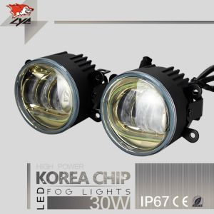 LYC Small Projector Headlight Fog Lamp For Jeep