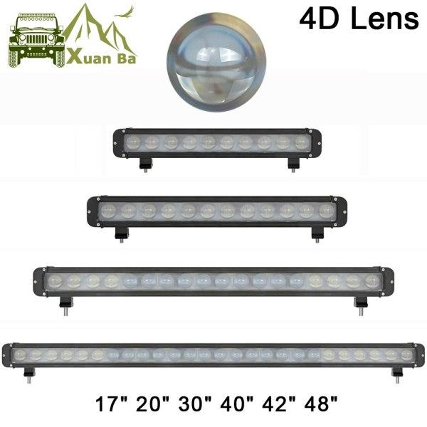 LED Light Bar 12V For Tractor ATV Spot Combo Beam