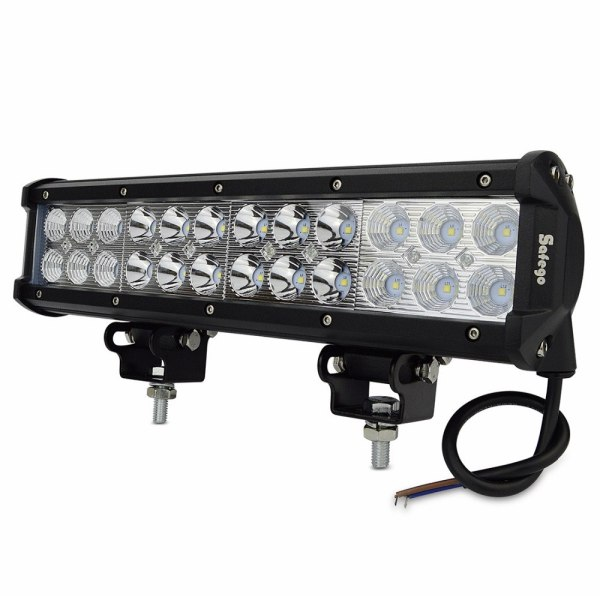 12inch led light bar 24pcs*3w high intensity LEDs led bar