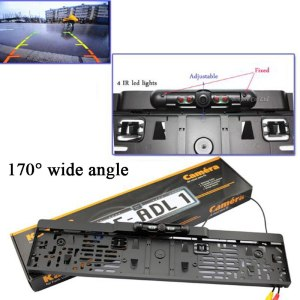 New car license plate camera with IR led lights