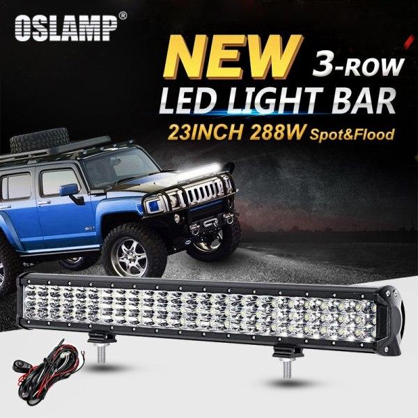 Led Work Light Bar for Truck SUV ATV 4WD