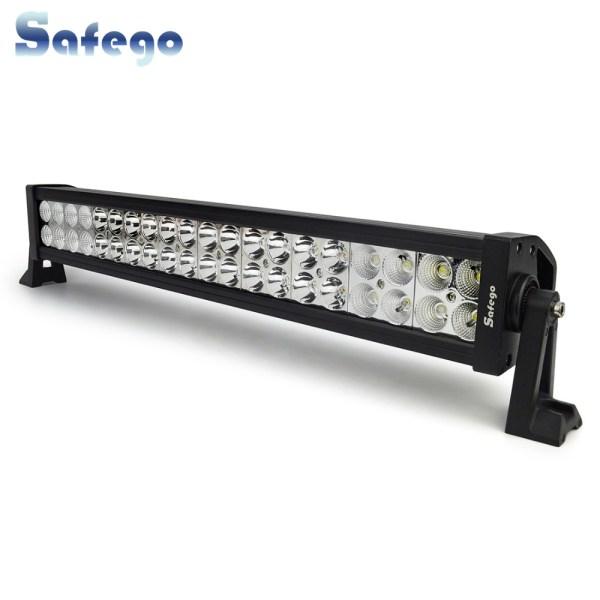 Safego 22 inch LED bar offroad 120W led light bar off road