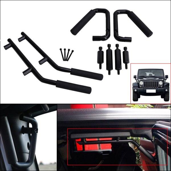 Jeep Wrangler JK Parts Front & Rear Grab Handles Roll Bar Grab Armrest