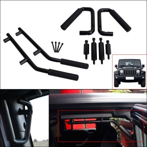 Jeep Wrangler JK Parts Front & Rear Grab Handles Roll Bar Grab Armrest