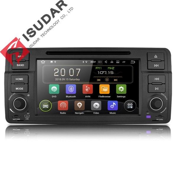 Automotivo For BMW/E46/M3/MG/ZT/Rover 75 Wifi Radio FM 4 Cores 16GB DSP
