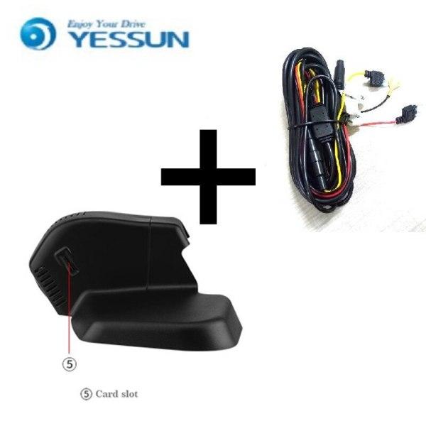 YESSUN for Ford Edge Car Driving Video Recorder DVR Mini Control APP Wifi Camera Registrator Dash Cam