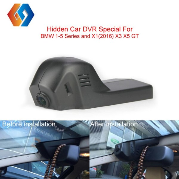 Car DVR Special Hidden Dash Cam For BMW Series Built-in G-Sensor With Motion Detection Car Front Camera 1080P Cycle Recording 32