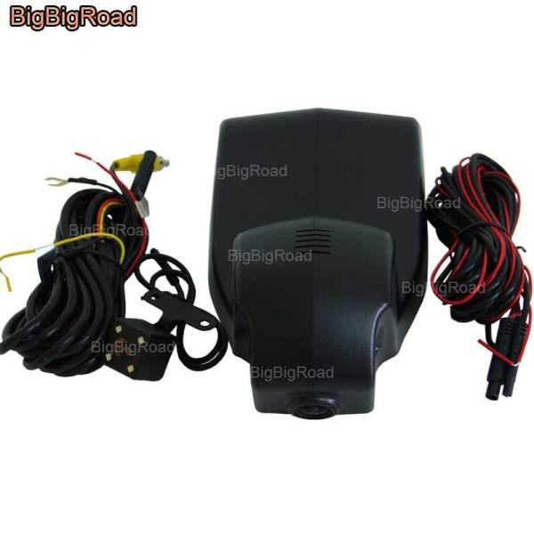 BigBigRoad For BMW X1 2016 / F01 2013 F11 2014 F10 Car wifi DVR Video Recorder dash cam Dual Camera lens