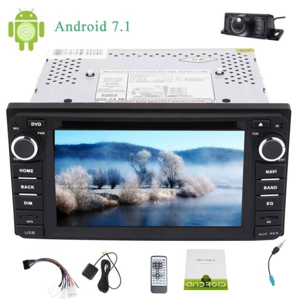 TOYOTA Corolla Eincar Backup Camera 6.2'' Android 7.1 Eincar Backup Camera 6.2'' Android 7.1 for TOYOTA Corolla EX Octa Core Car Stereo Double 2 Din Car DVD Player In dash Head Unit