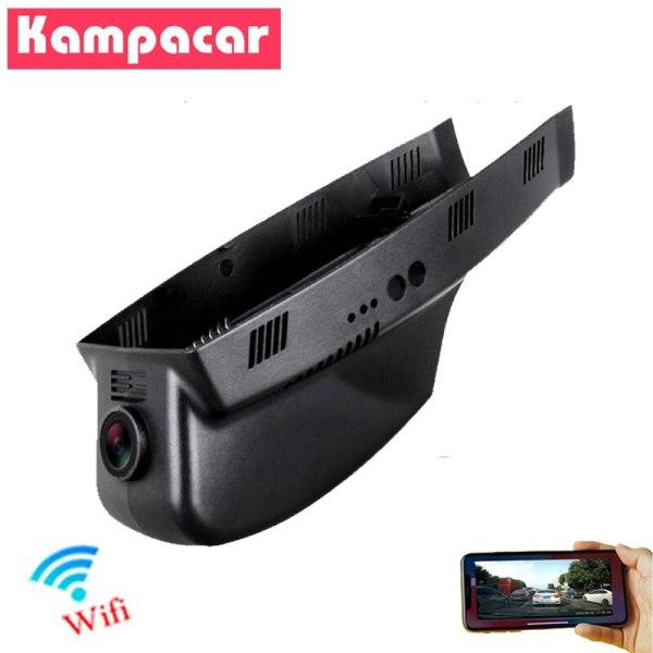 Kampacar HD 1080P Dash Cam Wifi Car DVR Video Recorder Dual Lens Rearview Camera for BMW X1 e84 X3 f25 f10 528i 530d e90 e60 e46
