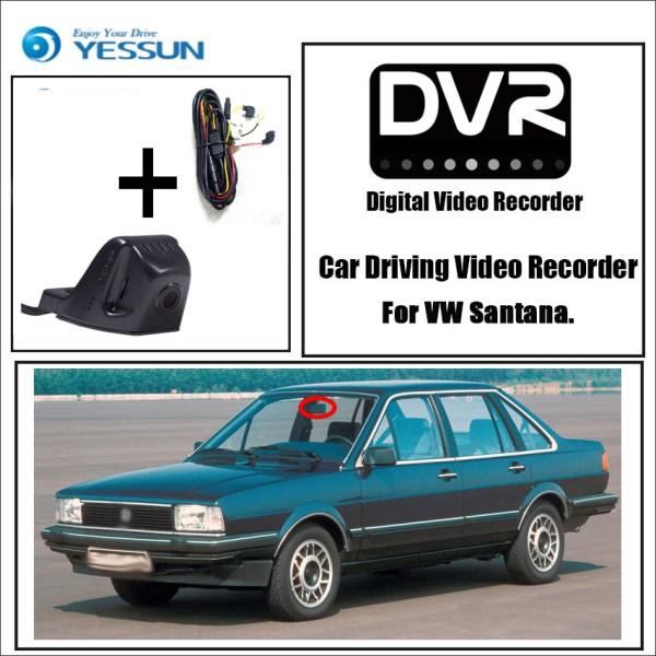 YESSUN Car DVR Driving Video Recorder for Volkswagen Santana Mini Control APP Wifi Camera Novatek 96658 Registrator Dash HD Cam