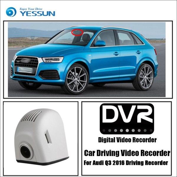 YESSUN for Audi Q3 2016 Driving Recorder Car Wifi Dvr Mini Camera Novatek 96658 Full HD 1080P Car Dash Cam Video Recorder