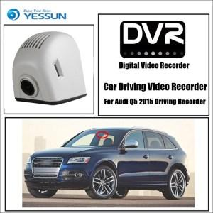 YESSUN for Audi Q5 B8 8R SQ5 TDI 2008~2016 Car DVR Wifi Video Recorder Dash Cam Camera Night Vision Control Phone APP 1080P