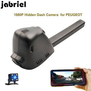 Jabriel for PEUGEOT hidden car dvr 1080P wifi dash cam driving recorder dual lens rearview camera for PEUGEOT 308 2015 2016 2017