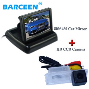 In-Dash placement car rear monitor shock-proof car parking camera apply for Volkswagen GOLF 6/Magotan