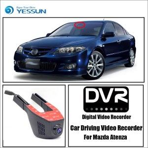 YESSUN for Mazda Atenza Car Driving Video Recorder DVR Mini Control APP Wifi Camera Registrator Dash Cam Original Style