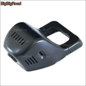 BigBigRoad Car front wifi DVR For Ford F-450 F-350 Novatek 96655 Dash Cam Video Recorder hidden installation