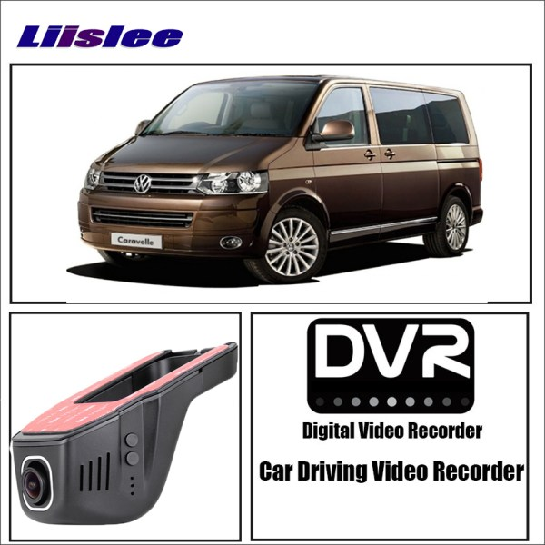 LiisLee Car Dash Cam Video Recorder WIFI night vision Car Dvr Mini Camera Driving Recorder for Volkswagen MultiVan