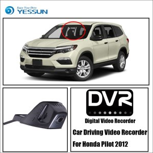 YESSUN Car DVR Driving Video Recorder For Honda Pilot 2012 HD 1080P Not Rear Back Camera Front Dash Camera