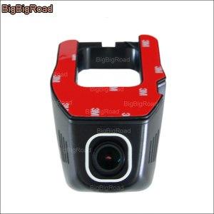BigBigRoad Car wifi DVR For Volkswagen Tiguan Scirocco Passat Video Recorder Novatek 96655 Dash Cam Camera FHD 1080P
