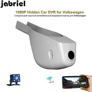 Jabriel HD 1080P hidden car dvr wifi vehicle dash cam car driving recorder for Volkswagen T0URAN Sagitar Lamando Golf Sportsvan
