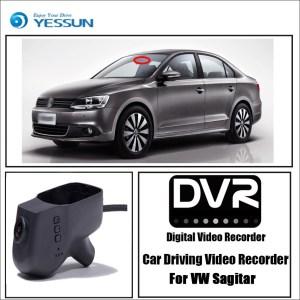 YESSUN for Volkswagen Sagitar Car DVR Driving Video Recorder Mini Control APP Wifi Camera FHD 1080P Registrator Dash Cam