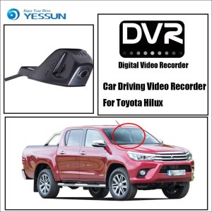 YESSUN for Toyota Hilux Car Front Dash Camera CAM DVR Driving Video Recorder For iPhone Android APP Control Function