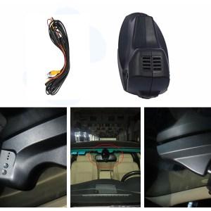 PLUSOBD Car Camera DVR For BMW 5 Series E60 E61 Rearview Mirror Camera Video Recorder Automobile Dash Cam Cheapest Camcorder