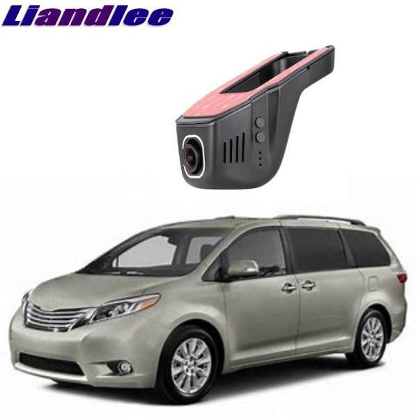 Liandlee For Toyota Sienna XL20 XL30 2003~2018 Car Road Record WiFi DVR Dash Camera Driving Video Recorder