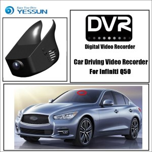 YESSUN for Infiniti Q50 Car DVR Driving Video Recorder Mini Control APP Wifi Camera Novatek 96658 FHD 1080P Registrator Dash Cam