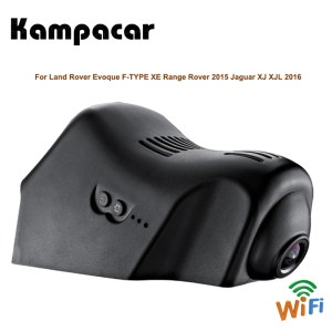 Kampacar HD Wifi Car Dvr Camera Video Recorder Dual Dash Cam For Land Rover Evoque F-TYPE XE Range Rover 2015 Jaguar XJ XJL 2016