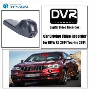 YESSUN Driving Recorder Car Wifi Dvr Mini Camera for BMW X6 2014 Car Dash Cam Video Recorder