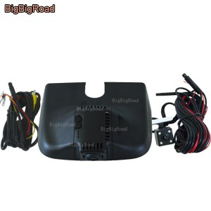 BigBigRoad For Mercedes Benz ML GL Series 2013 2014 2015 w166 250 Dual cameras Car DVR Video Recorder Wifi DVR dash cam
