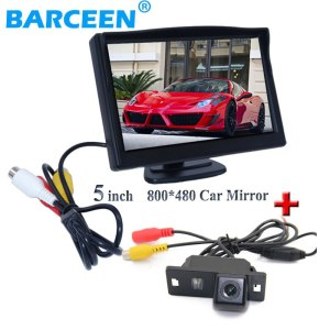 In-Dash placement car reversing monitor lcd display screen with car rear reserve camera for Audi A4L 2013~2014 / TT/ A5/ A6/Q5