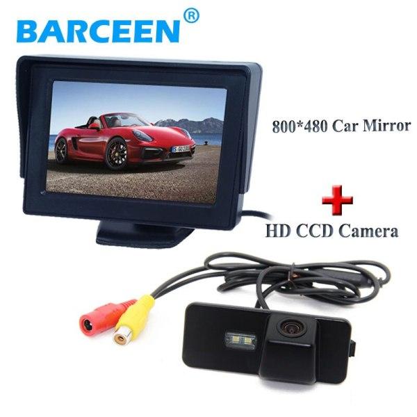 800*480 resolution car backup monito+ccd car rearview camera for Volkswagen VW Magotan PASSAT CC/Golf 5/POLO hatchback / Jetta